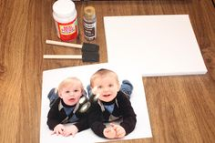 Mandie's Two Cents: Photo Canvas DIY