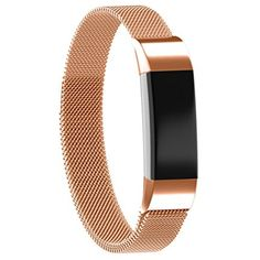 For Fitbit Alta HR and Alta Bands Metal, C-LAN Milanese Stainless Steel Replacement Accessories Small  #ClipsArmWristbands