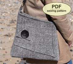 New: Sewing pattern to make the Salthouse Bag PDF by charliesaunt