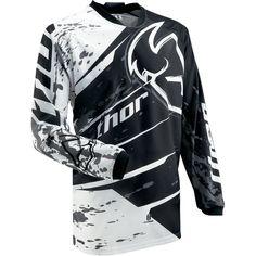 Thor MX Phase Splatter Youth Boys Motocross Motorcycle Jersey - http://downhill.cybermarket24.com/thor-mx-phase-splatter-youth-boys-motocross-motorcycle-2/