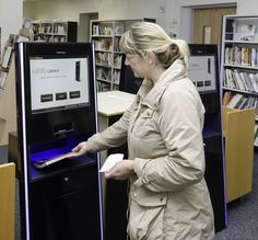 New self service machines, mean you don't have to wait to check out your books!