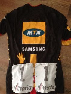 Gerald Ciolek's 2014 Milan San Remo Jersey up for auction