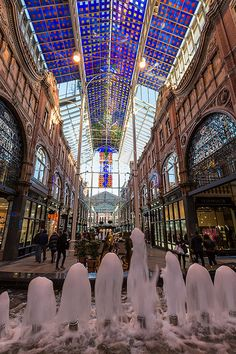 Leeds Victoria Quarter - Leeds, West Yorkshire, UK