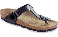 7c80ec37dace Birkenstock Women s Gizeh Patent Thong Style Slip-On Sandals