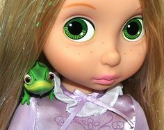 - Rapunzel: Can you keep a secret, Pascal? Disney Animator Dolls