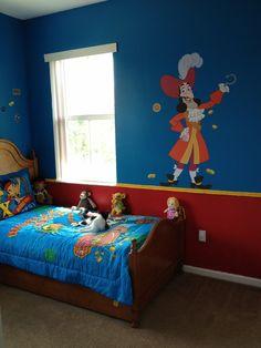 pirate bedroom | Jake and the neverland pirate bedroom | Ju Ju