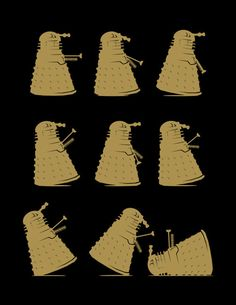 Doctor Who t-shirt Dalek Tshirt  Ministry of by VincentCarrozza