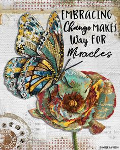 Butterfly Quotes, Butterfly Art, Butterfly Symbolism, Butterfly Painting, Beautiful Notebooks, Beautiful Butterflies, Mixed Media Art, Altered Art, Art Quotes