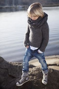Not kid will never dress like that. Not cute lol