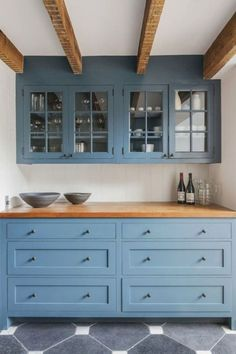 32 modern farmhouse kitchen cabinet makeover design ideas