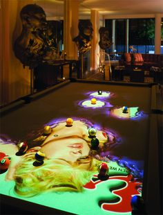 CueLight Interactive Pool Table System – Takes your Man-Cave Game High-Tech...