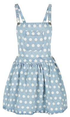 Primark Denim Pinafore, £14