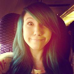 Kalel before she died her hair brown