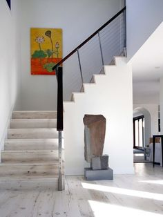 Beach House, Modern Staircase, New York