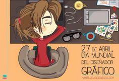 Feliz día a todos nuestros Diseñadores Gráficos. Doodles, Family Guy, Graphic Design, Disney, Creative, Poster, Fictional Characters, Banners, Memes