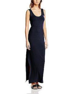 Size 8 (Manufacturer Size:Small), Black (Total Eclipse), Vila Women's Honesty Dr