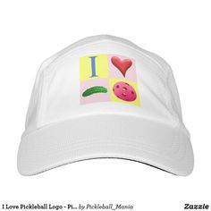 I Love Pickleball Logo - Pink - Hat