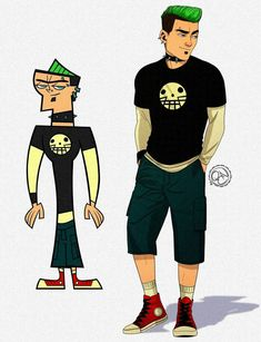 Cartoon Movie Characters, Cartoon Movies, Cartoon Shows, Total Drama Island Duncan, Duncan Total Drama, Old Cartoon Network, Character Art, Character Design, Desenhos Cartoon Network