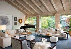 Northaven - contemporary - Living Room - Dallas - R Brant Design
