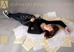 Good Senior Picture Ideas | Dallas and Plano senior pictures of girl in band example of creative ...