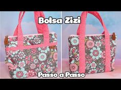 BOLSA ZIZI - Passo a Passo   Atelier LoveYu - YouTube Youtube, The Creator, 1, Fabric Tote Bags, Handmade Bags, Arts And Crafts, Dish Towels, Tote Bags, Scrappy Quilts