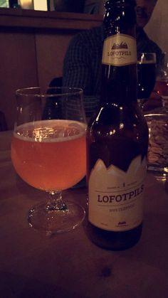 """""""Lofotpils"""" norwegian wheat beer from Lofoten"""