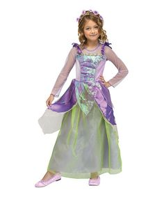 This Purple Flower Princess Dress-Up Set - Toddler & Girls by Fun World is perfect! #zulilyfinds