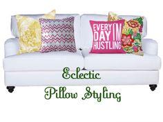Design Dish: Sofa Pillow Styling