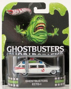 Hot Wheels Hot Wheels Retro Entertainment Ghostbusters Ecto 1