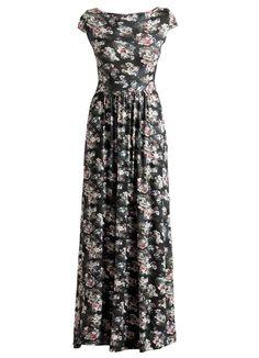 Vestido Longo Floral - Posthaus