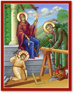 The House of Nazareth Icon makes a wonderful addition to any home or church. These icons of Christ remind us always continue to build our faith in the Lord Jesus Christ. Discover these and other icons of Christ right now at Monastery Icons. Religious Images, Religious Icons, Religious Art, Catholic Art, Catholic Books, Orthodox Catholic, Monastery Icons, Greek Icons, Church Icon