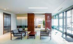 Frost Bank Regional Headquarters Design Elements, Modern Design, Bank Branding, Break Room, Regional, Frost, Building, Places, Interior