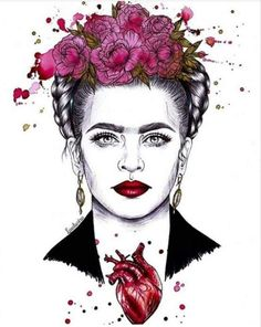 ideas for wallpaper frida kahlo pinturas Frida Kahlo Tattoos, Frida Kahlo Portraits, Frida Kahlo Artwork, Frida E Diego, Frida Art, Art Inspired Tattoos, Kahlo Paintings, Foto Transfer, Coastal Wall Art