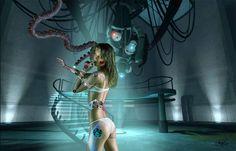 Johnzouan's stories ...: Woman robot...