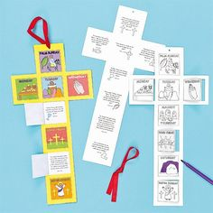 Holy Week Colour-in Calendars @bakerross ltd