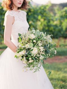 Vineyard Wedding Inspiration by Wedding Nature Photography