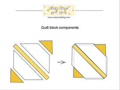 https://flic.kr/p/8SspfF | Urban Lattice block components | This is how the blocks come together. We'll be using an easy paper-piecing method which I'll explain when the time comes.   If you get hives thinking about trapezoids, you can use rectangles. You'll just have more scraps.  I'll be blogging about specific measurements for these blocks soon!