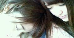 sweet 乃木坂46 (nogizaka46) ~ 松村沙友理 (Matsumura Sayuri) and 橋本奈々未 (Hashimoto Nanami) ^o^ ♥ ♥ ♥ ♥ sleep moment o (^ _ ^) o