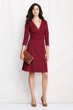 wrap dresses for pear shaped women - Google Search