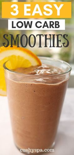 If you love low carb diet and looking for weight loss recipes, here are 3 low carb smoothies you should try! These low carb recipes are just what you need for the new year! Diet and Nutrition 3 Easy Low Carb Smoothies You Have to Try Weight Loss Meals, Healthy Weight Loss, Low Carb Smoothies, Weight Loss Smoothies, Smoothie Recipes, Nutribullet Recipes, Green Smoothies, Simple Smoothies, Veggie Smoothies