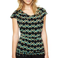 Worthington® Side-Ruched Top - jcpenney