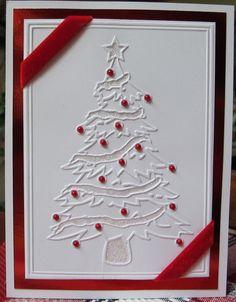 Darice Christmas Embossing Folders | Darice Embossing Folder - Christmas Tree [1215-56 DR] - $4.49 : Crop ...