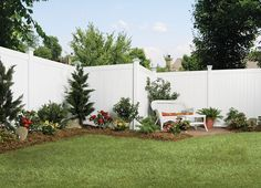 6x8 Privacy Vinyl Fence