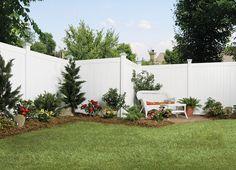 6x8 Privacy Vinyl Fence