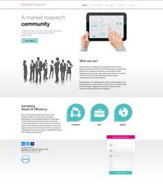 Maquetación/Programación Para: MadridNYC Cliente: Branded Research