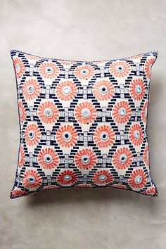 John Robshaw Rafa Pillow #anthropologie