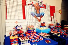 The Party Wall: Spiderman Birthday Party: Part 1 & 2, As Featured on Amy Atlas!