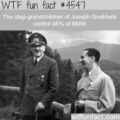 Joseph Goebbles - WTF fun facts