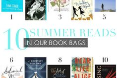 10 Summer Reads In Our Book Bags