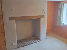 Old Inglenook fireplace in woodbury opened up from small Victorian ...